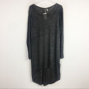 Divided | Gray Hi-low T-shirt Blouse | Large